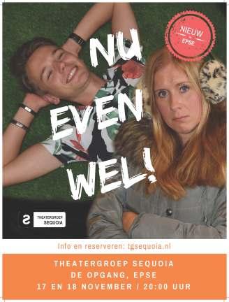 Theatergroep Sequoia poster